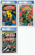 Bronze Age (1970-1979):Miscellaneous, Comic Books - Assorted Bronze Age Comics CGC-Graded Group of 3(Various Publishers, 1975-78).... (Total: 3 Comic Books)