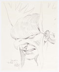 Original Comic Art:Illustrations, Joe Kubert - Hawkman Commission Illustration Original Art(1991)....