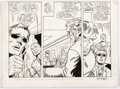 Dick Ayers and John Severin The Incredible Hulk #153 Unpublished Partial Page Or Comic Art