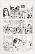 Original Comic Art:Panel Pages, Andy MacDonald Superman 80-Page Giant 2011 Story Page 7Original Art (DC, 2011)....