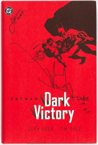 Batman: Dark Victory - Signed Hardcover Limited Edition (DC, 2001) Condition: NM-