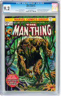 Bronze Age (1970-1979):Horror, Man-Thing #1 (Marvel, 1974) CGC NM- 9.2 Off-white to whitepages....