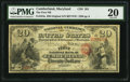 National Bank Notes:Maryland, Cumberland, MD - $20 Original Fr. 424a The First NB Ch. # 381. ...