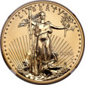 2006-W $50 One-Ounce Gold Eagle, 20th Anniversary, Reverse Proof, Augustus Saint-Gaudens, PR70 NGC....(PCGS# 100201)