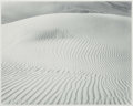 Photographs:Gelatin Silver, Don Worth (American, 1924-2009). Sand Dunes near Yuma,Arizona and Weeds and Snow, Yosemite (two photographs),1956... (Total: 2 Items)