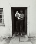 Photographs, Bruce Davidson (American, b. 1933). Welsh Miners, 1965. Gelatin silver. 19-7/8 x 16 inches (50.5 x 40.6 cm). Signed, dat...