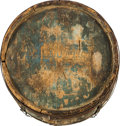 Military & Patriotic:Civil War, Wooden Drum Canteen Made by Henry Lutts of Philadelphia for the Republic of Texas, Circa 1839....