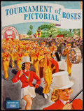 Football Collectibles:Programs, 1940 Tournament of Roses Pictorial Program. ...