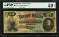 Large Size:Legal Tender Notes, Fr. 151 $50 1869 Legal Tender PMG Very Fine 20 Net.. ...