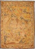 Rugs & Textiles:Tapestries, A Flemish Tapestry Fragment. 79 inches high x 55-1/2 inches wide(200.7 x 141.0 cm). ...