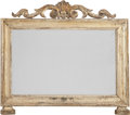 Decorative Arts, Continental:Other , A Rococo-Style Silvered Wood Desk Mirror, 19th century. 19 incheshigh x 22 inches wide (48.3 x 55.9 cm). PROPERTY FROM TH...