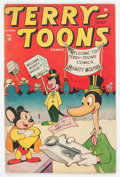 Golden Age (1938-1955):Funny Animal, Terry-Toons Comics #38 (Timely, 1945) Condition: GD+....