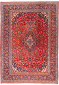 "Rugs & Textiles:Carpets, An Oriental Carpet. 13 feet long x 9 feet wide. PROPERTY FROM THEESTATE OF KENNETH S. ""BUD"" ADAMS JR...."