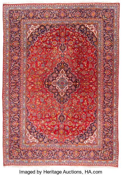 Rugs Textiles Carpets An Oriental Carpet 13 Feet Long X 9