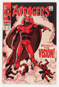 Silver Age (1956-1969):Superhero, The Avengers #57 (Marvel, 1968) Condition: FN....