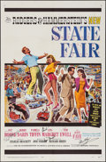 "Movie Posters:Musical, State Fair (20th Century Fox, 1962). Autographed One Sheet (27"" X 41""). Musical.. ..."
