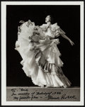 """Movie Posters:Musical, Eleanor Powell by Clarence Sinclair Bull (MGM, 1935). Autographed Photo (8"""" X 10'). Musical.. ..."""