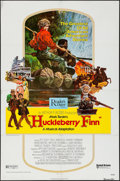 """Movie Posters:Musical, Huckleberry Finn (United Artists, 1974). Identical One Sheets (4)(27"""" X 41""""). Musical.. ... (Total: 4 Items)"""