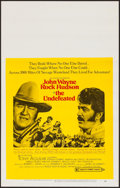 Movie Posters:Western, The Undefeated (20th Century Fox, 1969). Window Ca...
