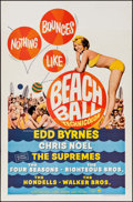 "Movie Posters:Rock and Roll, Beach Ball (Paramount, 1965). One Sheet (27"" X 41""). Rock and Roll.. ..."