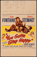 Movie Posters:Comedy, You Gotta Stay Happy & Others Lot (Universal International...