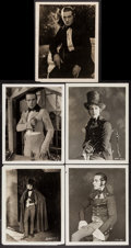 """Movie Posters:Miscellaneous, Rudolph Valentino (1920s). Portrait Photos (5) (8"""" X 10""""). Miscellaneous.. ... (Total: 5 Items)"""