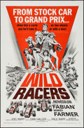 "Movie Posters:Sports, Wild Racers (American International, 1968). One Sheet (27"" X 41"") & Lobby Card Set of 8 (11"" X 14""). Sports.. ... (Total: 9 Items)"