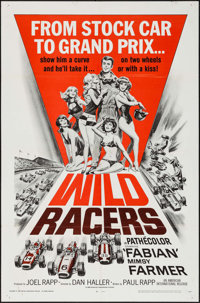 """Wild Racers (American International, 1968). One Sheet (27"""" X 41"""") & Lobby Card Set of 8 (11"""" X 14&quo..."""