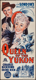"Movie Posters:Western, Queen of the Yukon & Other Lot (Monogram, 1940). AustralianDaybills (2) (13"" X 30"", 13.5"" X 36""). Western.. ... (T..."