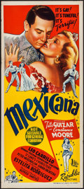 "Movie Posters:Musical, Mexicana (Republic, 1945). Australian Daybill (13.25"" X 30"").Musical.. ..."