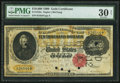 Large Size:Gold Certificates, Fr. 1225e $10,000 1900 Gold Certificate PMG Very Fine 30 Net.. ...