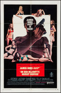 "Movie Posters:James Bond, On Her Majesty's Secret Service (United Artists, 1970). One Sheet (27"" X 41"") Style A. James Bond.. ..."