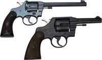 Lot of Two Colt Double Action Revolvers