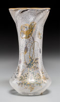 Art Glass:Other , An Art Nouveau Poppy Vase Attributed to Mont Joye. 8 inches high x4 inches diameter (20.3 x 10.2 cm). ...