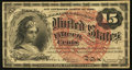 Fractional Currency:Fourth Issue, Fr. 1267 15¢ Fourth Issue Extremely Fine-About New.. ...