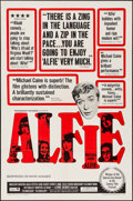 "Movie Posters:Comedy, Alfie (Paramount, 1966). One Sheet (27"" X 41""). Comedy.. ..."
