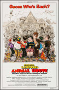 "Movie Posters:Comedy, Animal House (Universal, R-1979/1978). One Sheet (27"" X 41"") &Mini Lobby Card Set of 4 (8"" X 10""). Comedy.. ... (T..."
