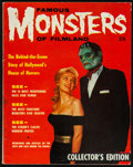 "Movie Posters:Horror, Famous Monsters of Filmland British Issue #1 (Brook Street Publications, 1958). Magazine (66 Pages, 8.25"" X 10.25""). Horror...."
