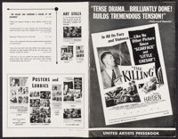 The Killing & Others Lot (United Artists, 1956). Uncut Pressbooks (8) & Cut Pressbooks (2) (Multiple Pages, 11&q...