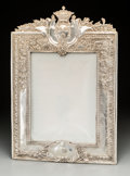 Decorative Arts, Continental:Other , A Large Silver-Plated Picture Frame. 20-1/2 inches high x 14-1/4inches wide (52.1 x 36.2 cm). ...