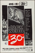 "Movie Posters:Drama, -30- (Warner Brothers, 1959). One Sheet (27"" X 41""..."