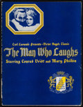 """Movie Posters:Horror, The Man Who Laughs (Universal, 1928). Program (20 Pages, 9"""" X 12""""). Horror.. ..."""