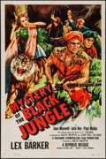 "Movie Posters:Adventure, Mystery of the Black Jungle (Republic, 1954). One Sheet (27"" X 41"")& Lobby Card Set of 8 (11"" X 14""). Adventure.. ... (Total: 9Items)"