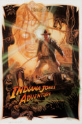 "Animation Art:Poster, ""Indiana Jones Adventure - Temple of the Forbidden Eye"" DisneylandPark Attraction Signed Artist's Proof Poster (Walt Disney, ..."