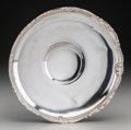 Silver Holloware, American:Bowls, An American Silver Low Bowl, 20th century. Marks: STERLING,7521/201. 2-1/2 inches high x 10-1/8 inches diameter (6.4 x ...