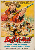 "Movie Posters:Western, Buffalo Bill & Others Lot (Valoria, 1965). Argentinean One Sheet (29"" X 42""), Insert (14"" X 36""), Mexican Lobby Card (12.5"" ... (Total: 5 Items)"