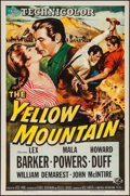 "Movie Posters:Western, The Yellow Mountain & Other Lot (Universal International,1954). One Sheets (2) (27"" X 41"") & Lobby Cards (14) (11"" X..."