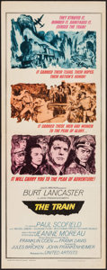 "Movie Posters:War, The Train (United Artists, 1965). Insert (14"" X 36""). War.. ..."