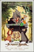 Movie Posters:Animation, The Jungle Book & Others Lot (Buena Vista, R-1984).