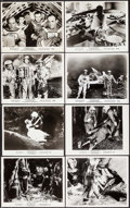 "Movie Posters:Science Fiction, Journey to the Seventh Planet & Others Lot (AmericanInternational, 1961). Photos (15) (8"" X 10""). Science Fiction.. ...(Total: 15 Items)"